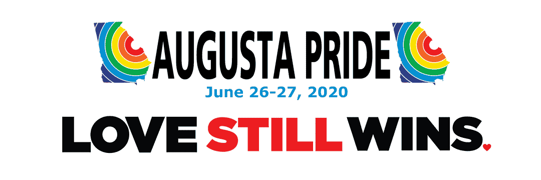 Augusta Pride June 26-27, 2020 Love Still Wins